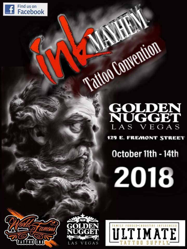 Ink Mayhem Las Vegas Tattoo Convention | Tattoofilter