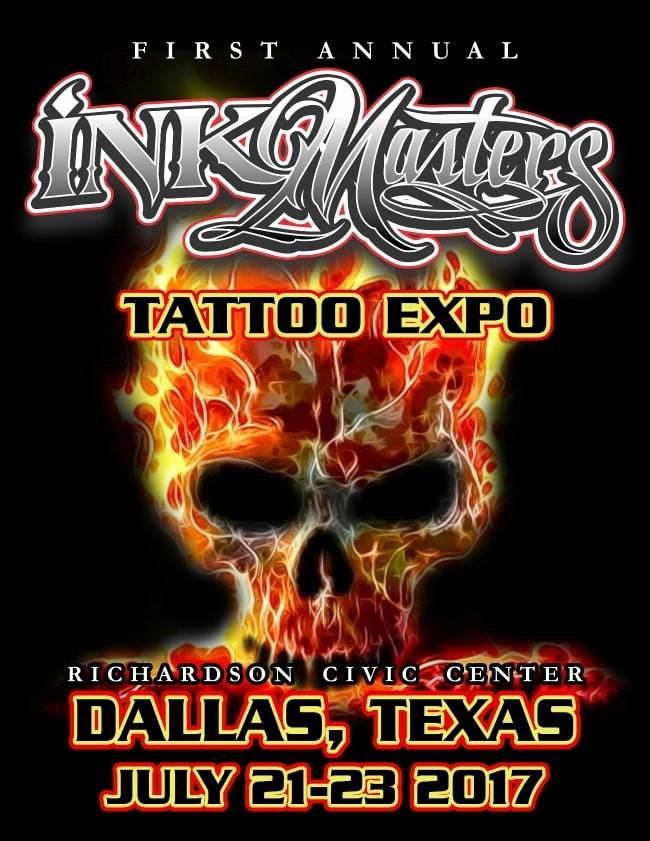1st ink masters tattoo show dallas tattoofilter for Dallas tattoo convention