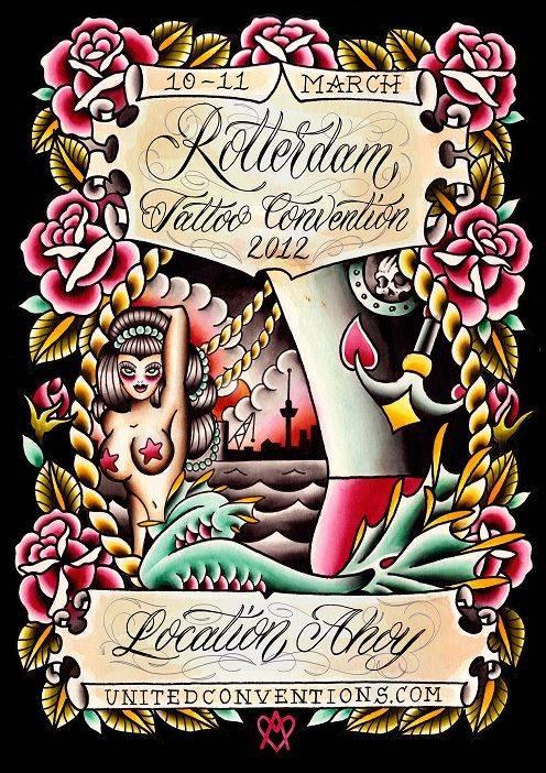 2nd Rotterdam Tattoo Convention Tattoofilter