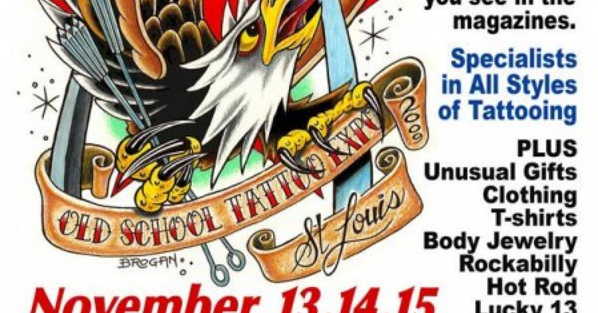 5th st louis old school tattoo expo tattoofilter for Detroit tattoo convention 2017