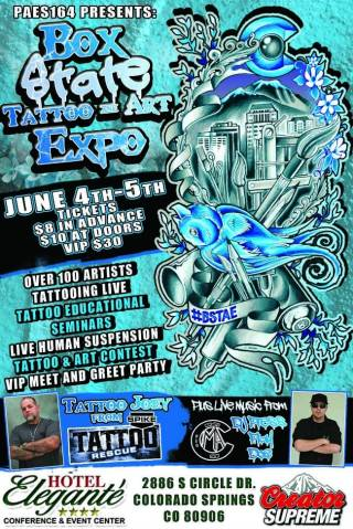 Tattoo events in colorado for Tattoo convention 2017 denver