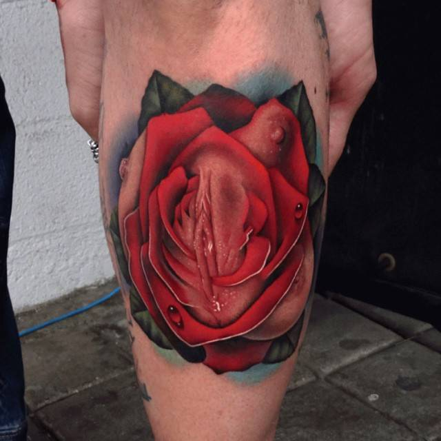 Pictures of vagina tattoos for Vag tattoo pictures