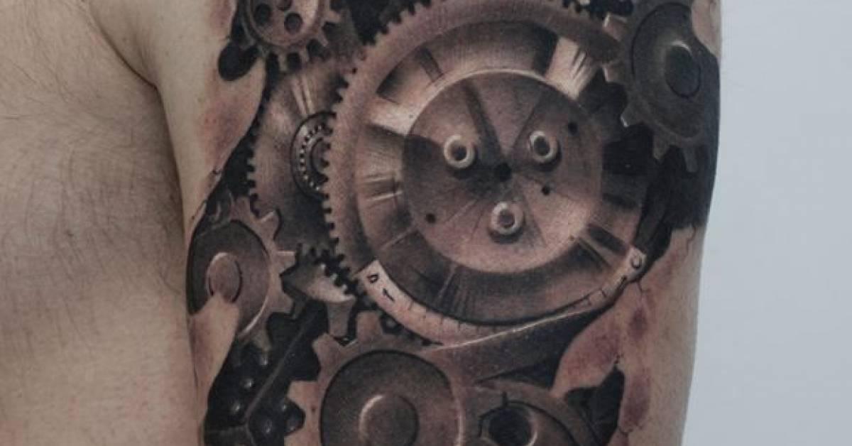 Tatuajes De Engranajes Tattoofilter