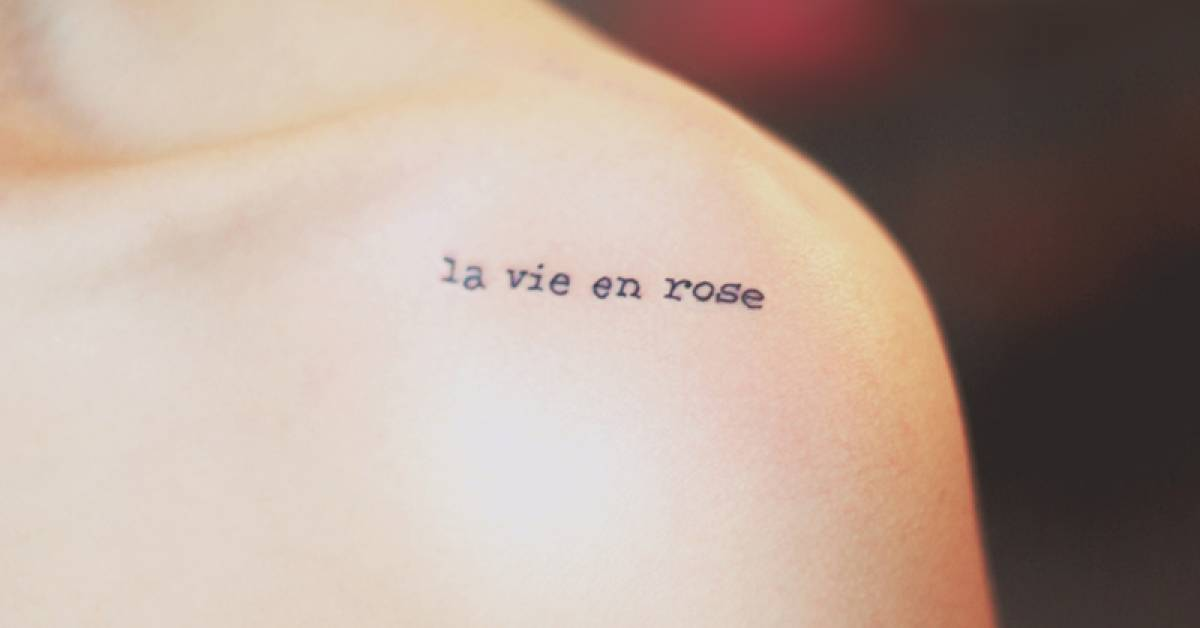 Tatuajes En Letras De Máquinas De Escribir Tattoofilter