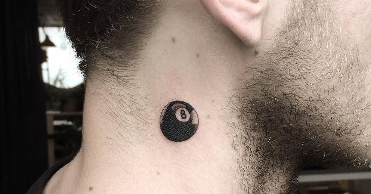 Eight Ball Tattoo Tattoofilter