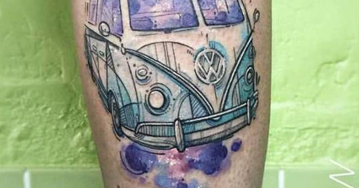 Volkswagen T1 Tattoos Tattoofilter