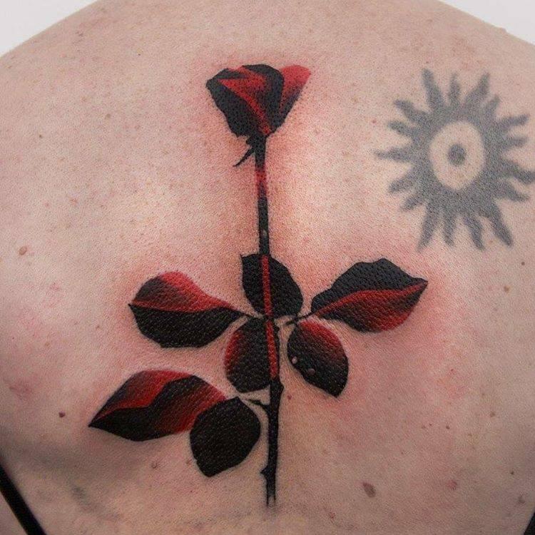 Depeche Mode Rose Tattoo