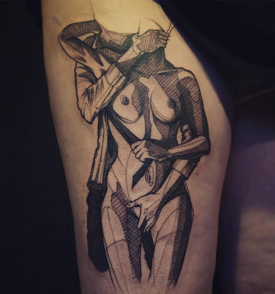 Latest BDSM tattoos