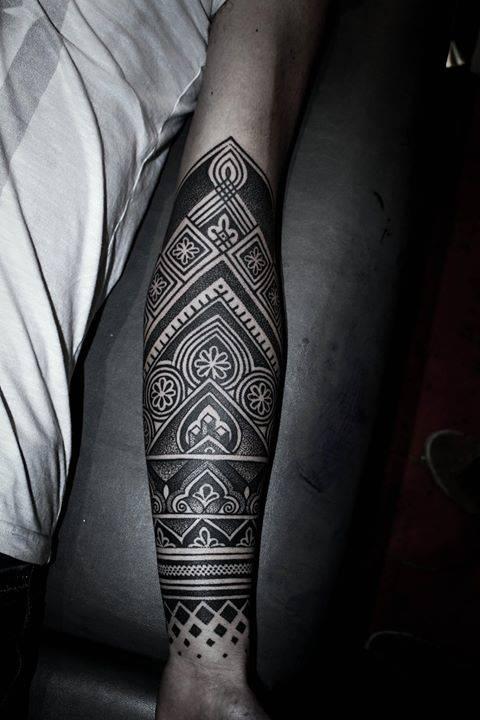 henna inspired half sleeve. Black Bedroom Furniture Sets. Home Design Ideas
