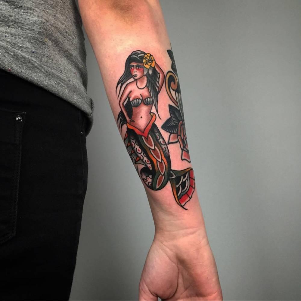 mermaid tattoo 24