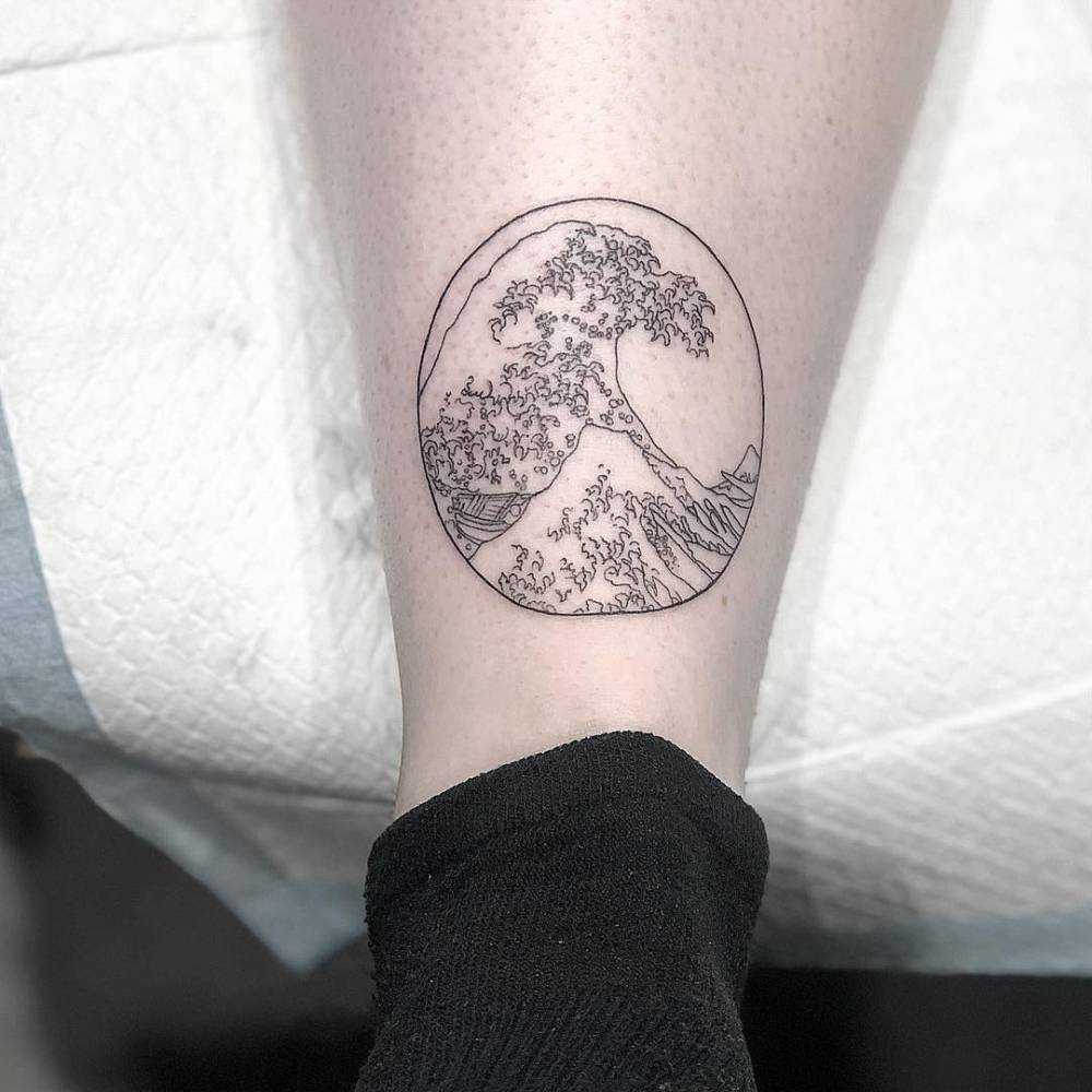 Teeny great wave for beauty Alex! Thank you