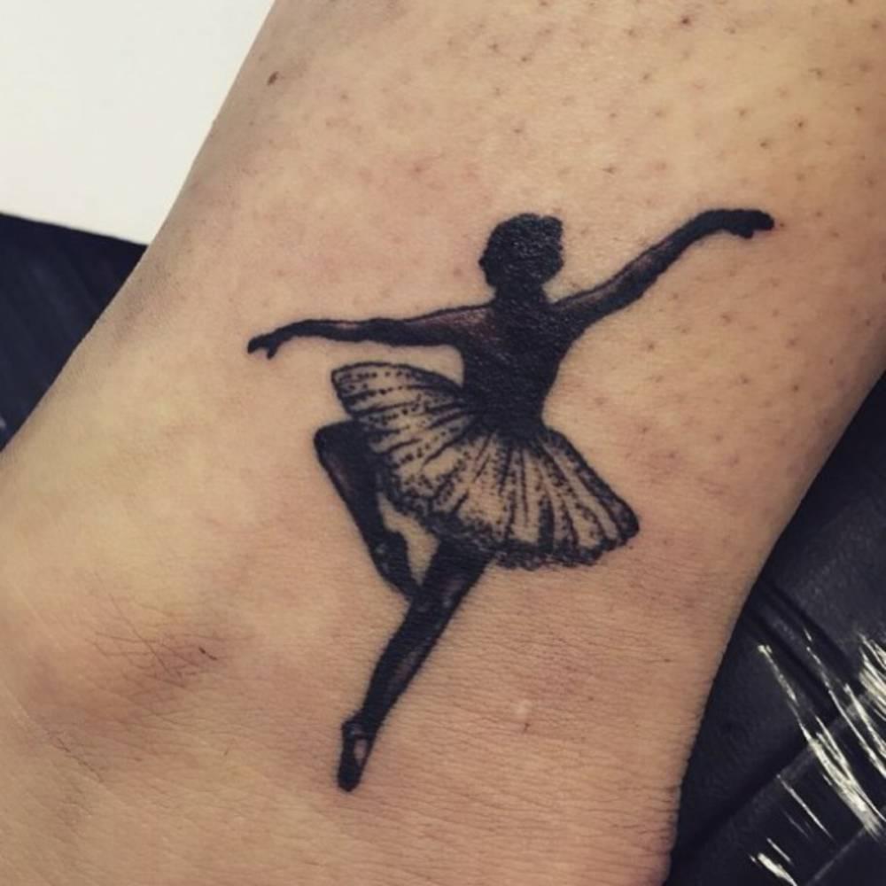 картинки тату балерин какой