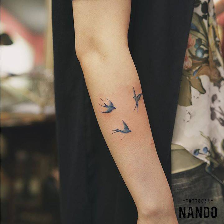 Tattoo Symbolism Swallows
