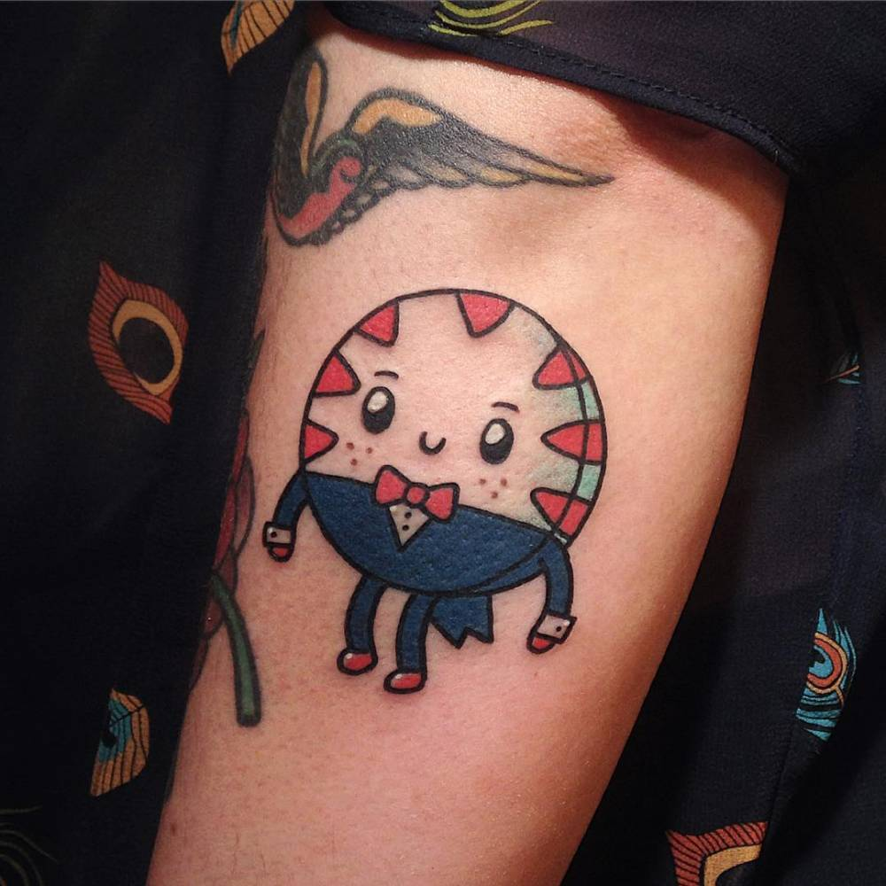 Kawaii Style Adventure Time S Peppermint Butler Tattoo