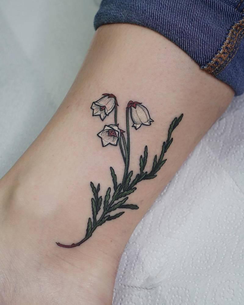 Small cassiope tattoo.