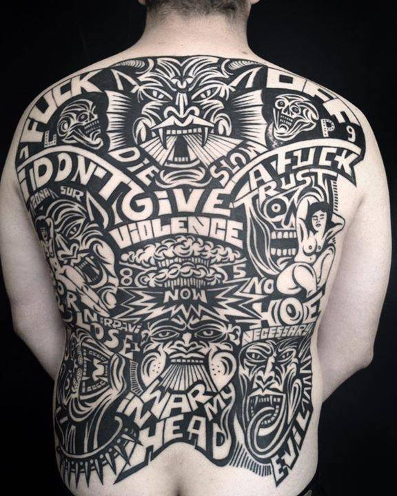 Healed backpiece from a while back.