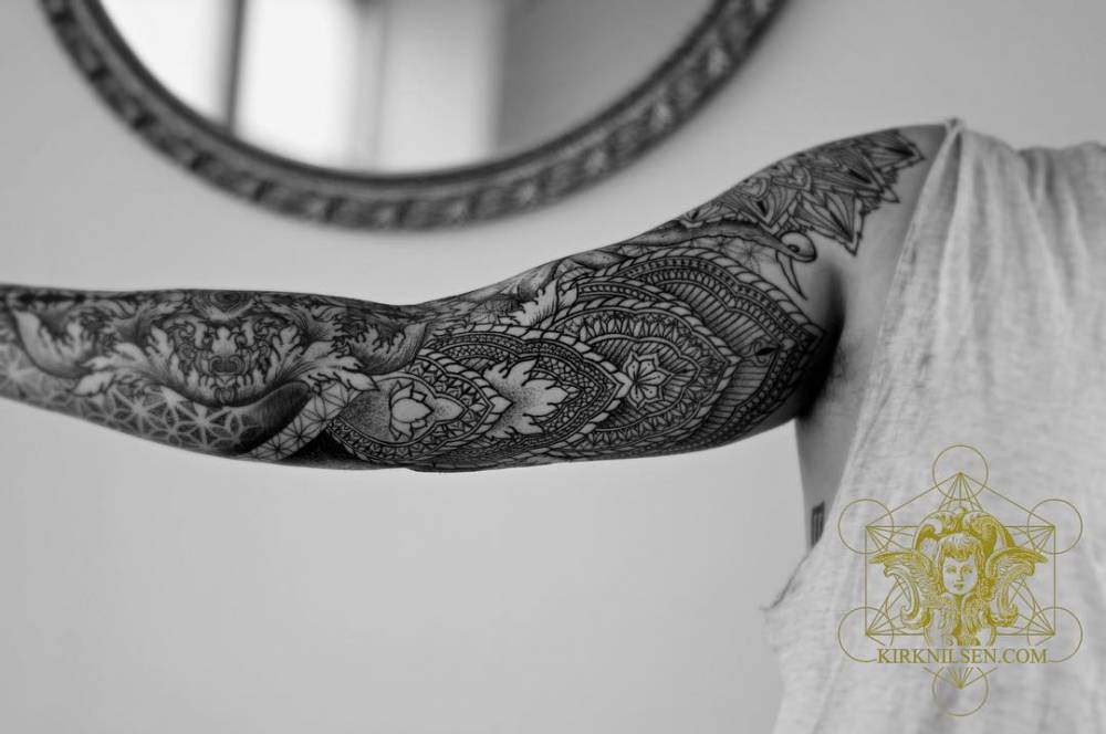 Henna Designs For Inner Arm: Henna Inspired Inner Arm Tattoo