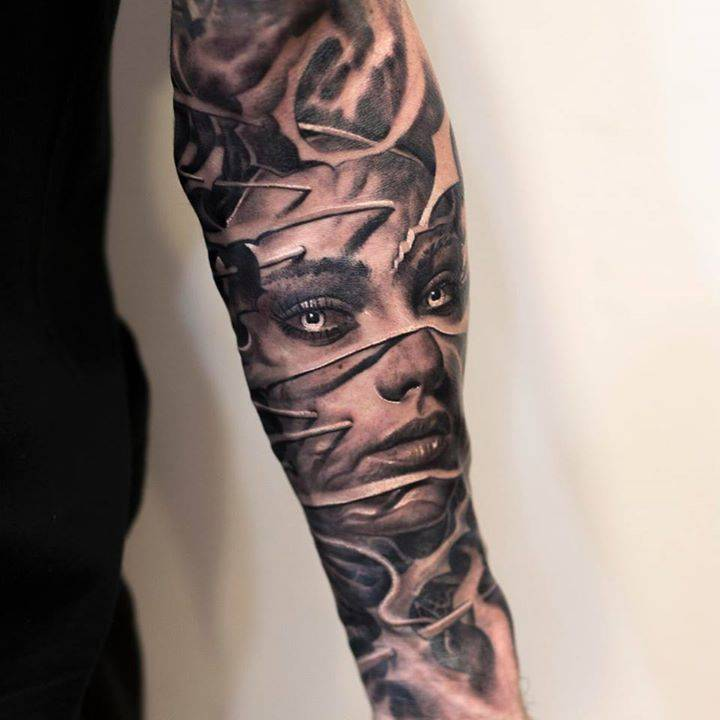 tattoo styles black and grey rh tattoofilter com Black and Grey Cross Tattoos Black and Grey Tattoo Letter Shading