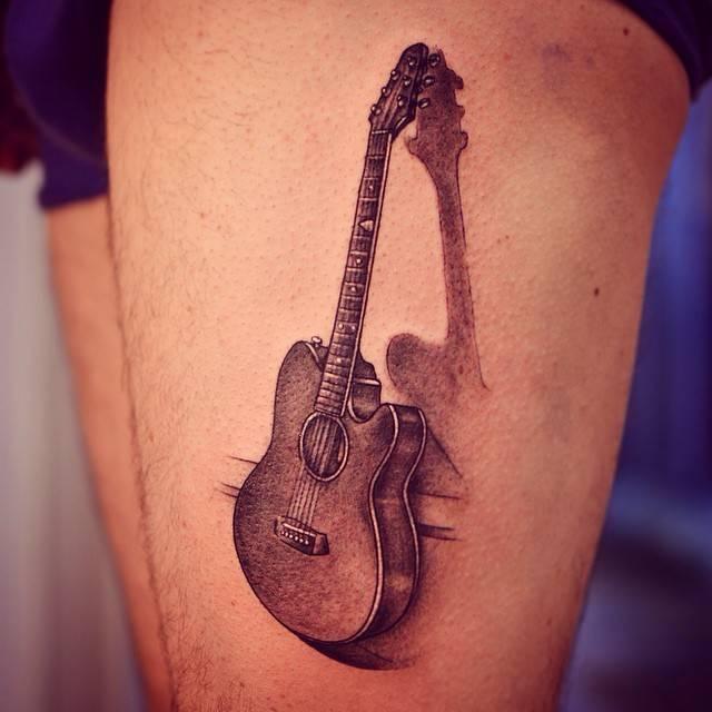 Фото тату гитар