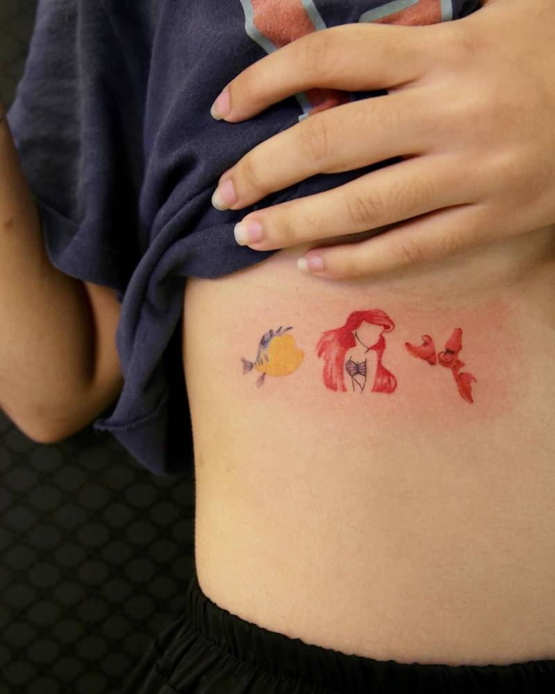 Disney Tattoos That Minimalist Fans Will Love They were the most feared military army in the greek world between the. disney tattoos that minimalist fans