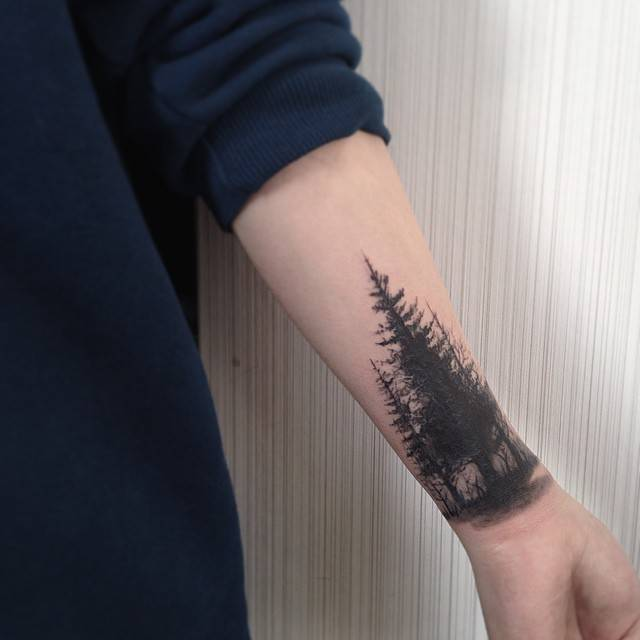 forest tattoo 9