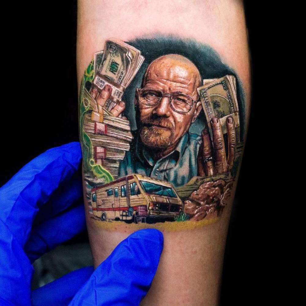 Best small tattoo, best of day, best of show Inti Tattoo Expo Perú.