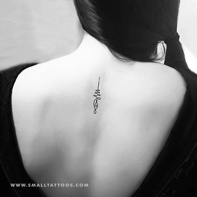Unalome temporary tattoo, get it here ►