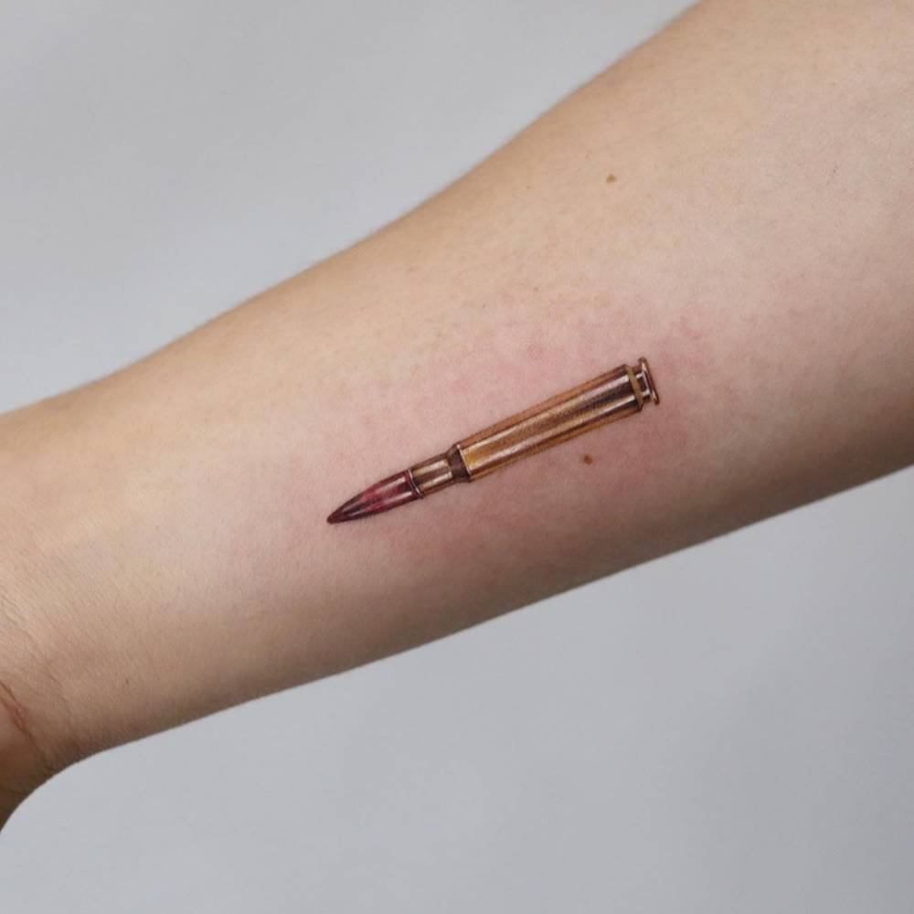 A bullet.