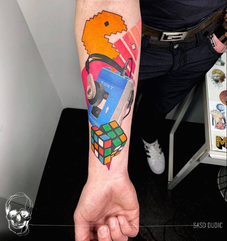 80s vibe tattoo ?