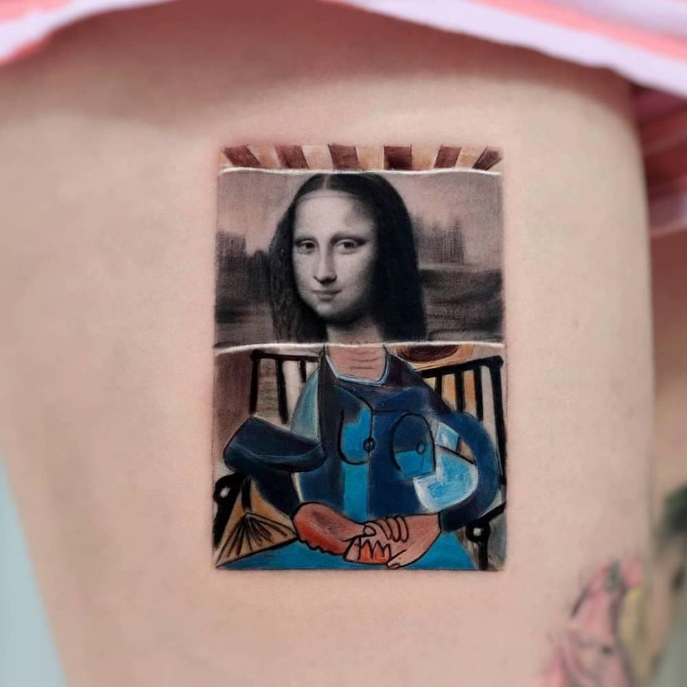 Picasso + Da Vinci