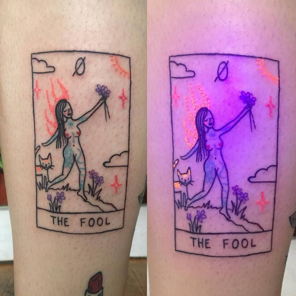 The Flaming Fool for my dear sweet Marley, thanks again babe!