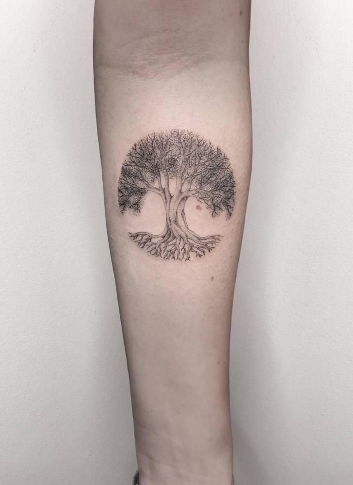 Tree of life // fineline //