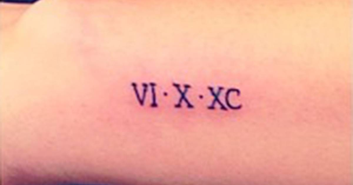 vi x xc tattoo on hailey baldwin 39 s left wrist. Black Bedroom Furniture Sets. Home Design Ideas