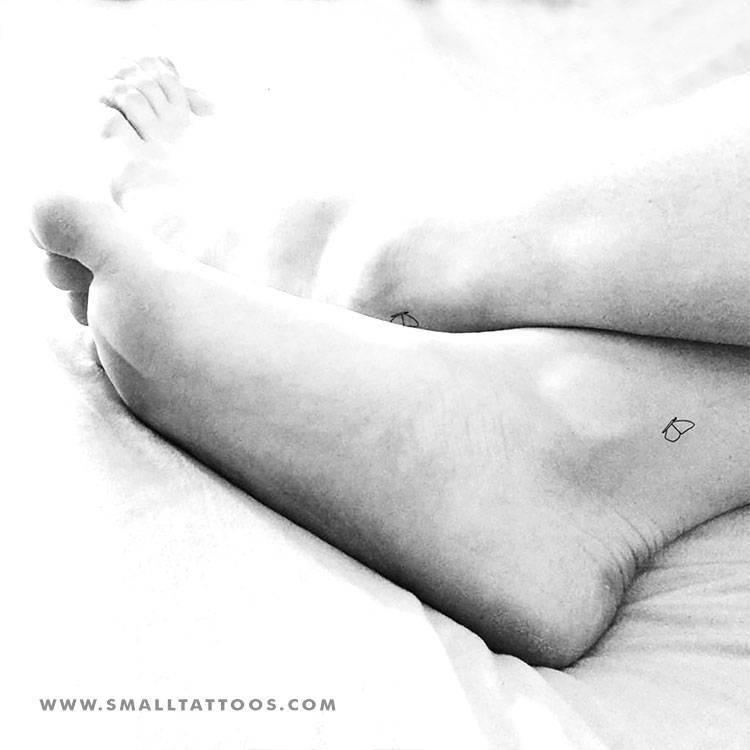 Matching half butterflies temporary tattoo, get it here ►