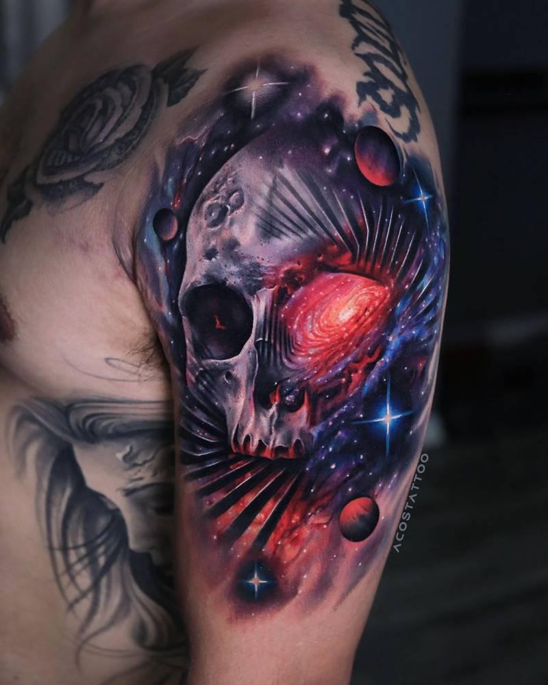 Space skulls forever.