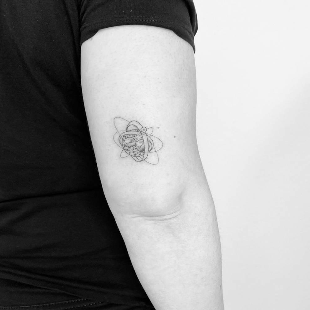Time turner - Harry Potter Tattoo