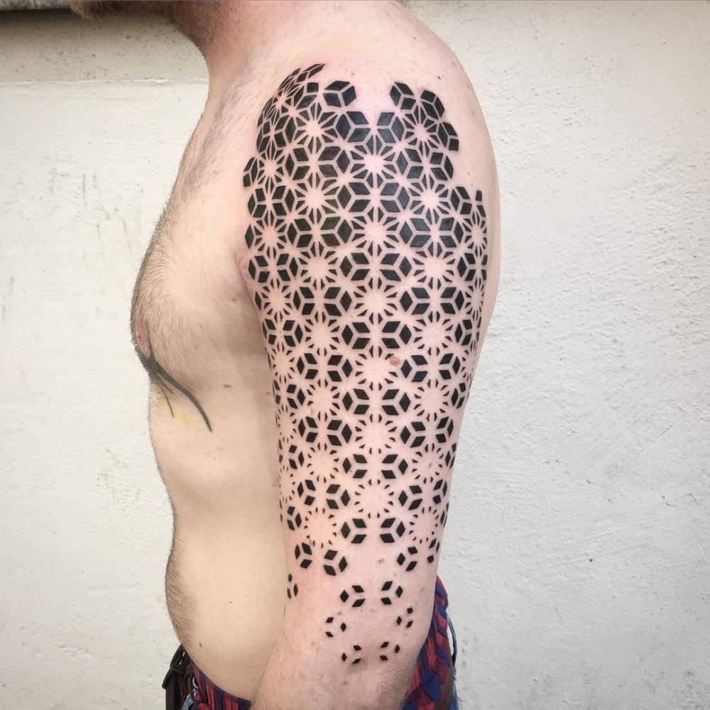 Pattern Tattoo Custom Decorating Design