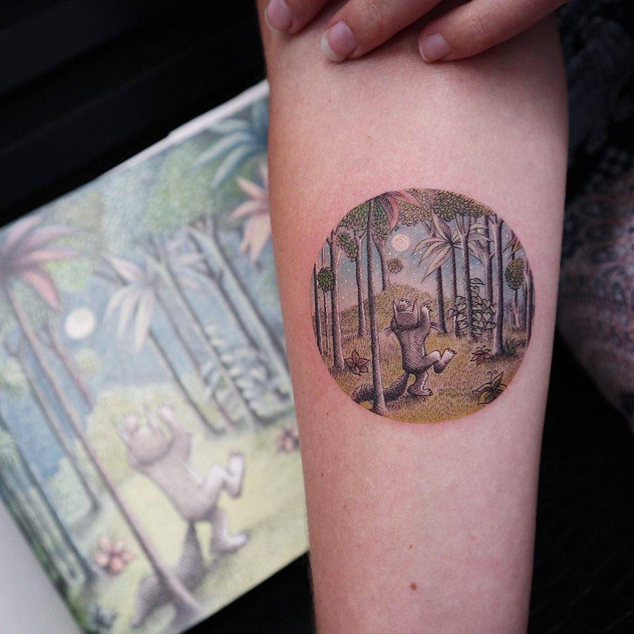 Where The Wild Things Are Inspired Tattoo