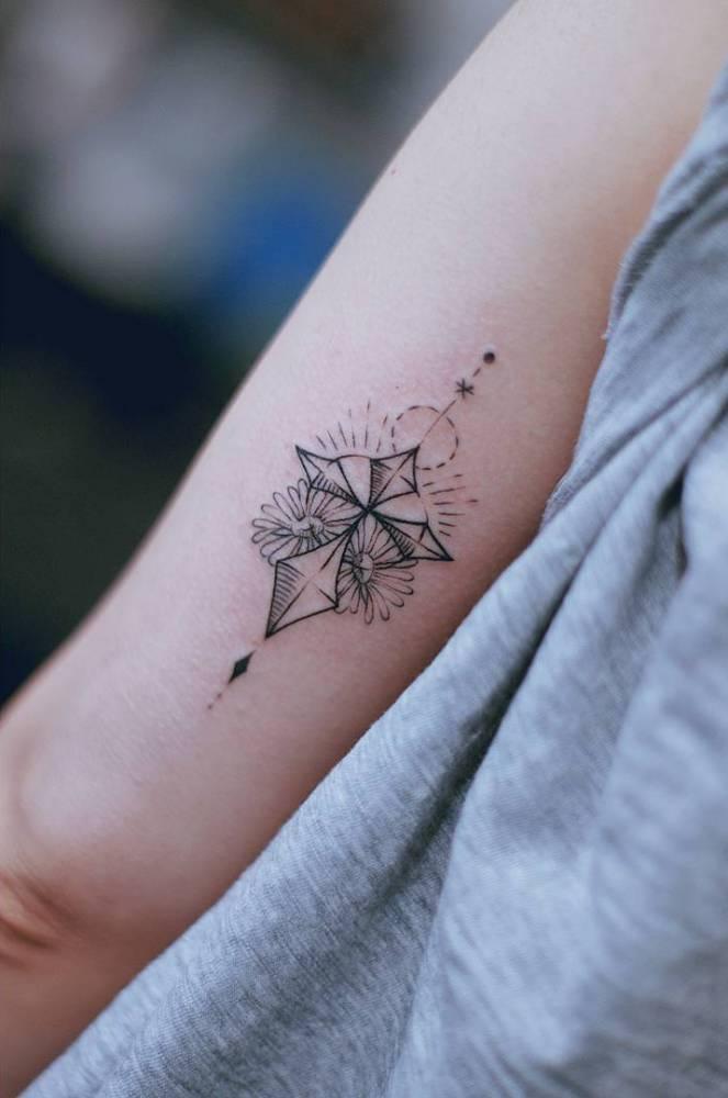Simbología De Los Tatuajes De Cruces